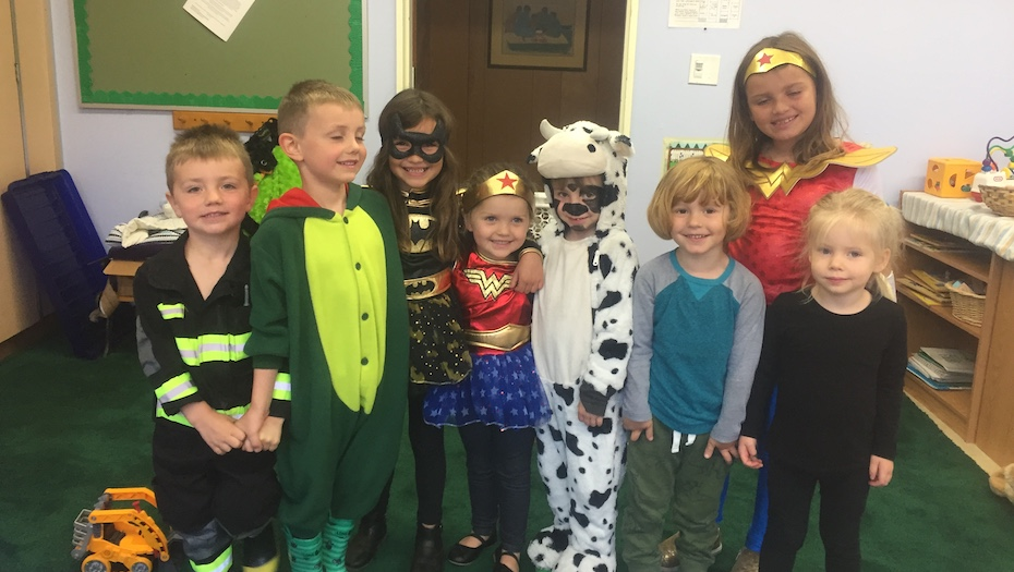 Halloween at St. Mary's is a fun and safe party for kids!
