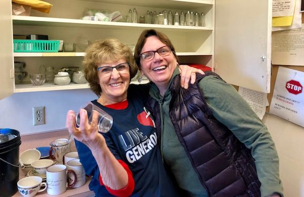 Norma and Jackie - Kitchen Angels, or? You be the judge…