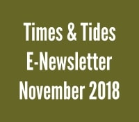 Times and Tides November 2018