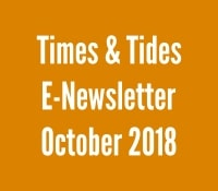 Times and Tides October 2018