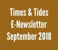 Times and Tides September 2018