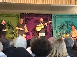 Old Blind Dogs playing at the Celtic Concert Series
