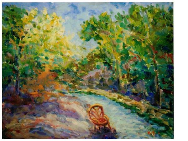 Annette Foisie Painting