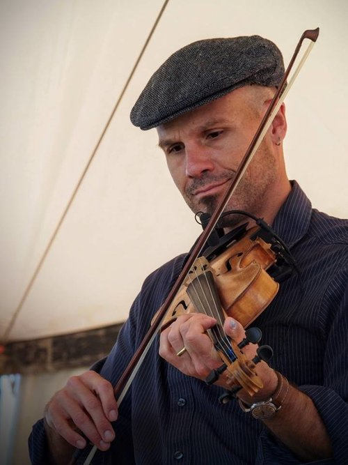 The weekly Celtic music with our favorite fiddler and recording artist, John Weed, resumes Tuesday August 6th from 4 to 6 p.m