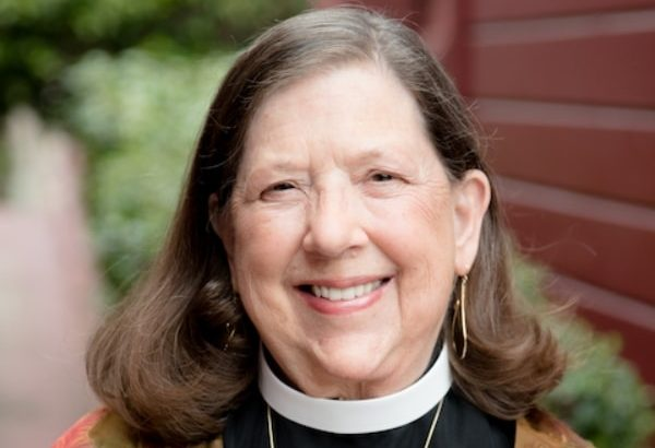 The Reverend Wendy Howe headshot for Reflections article