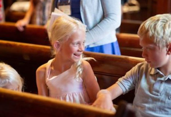 Children are welcome in church!