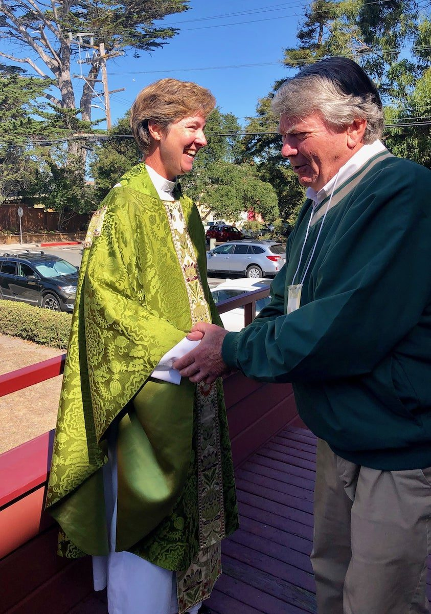 Welcome Sunday for the Reverend Kristine A. Johnson
