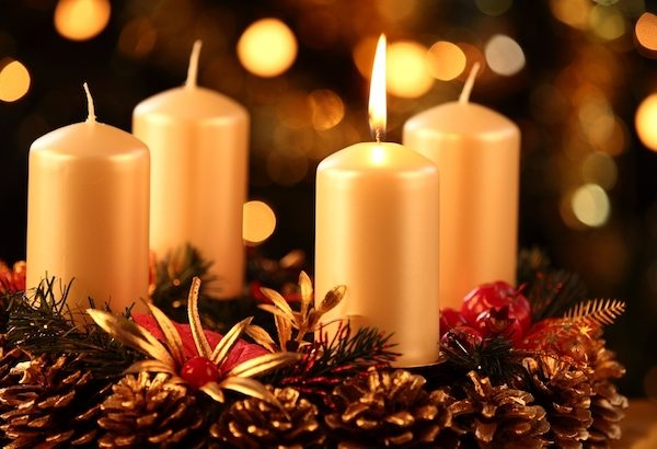 Advent wreath - Reflection with Rev. Kristine A Johnson, December 2019