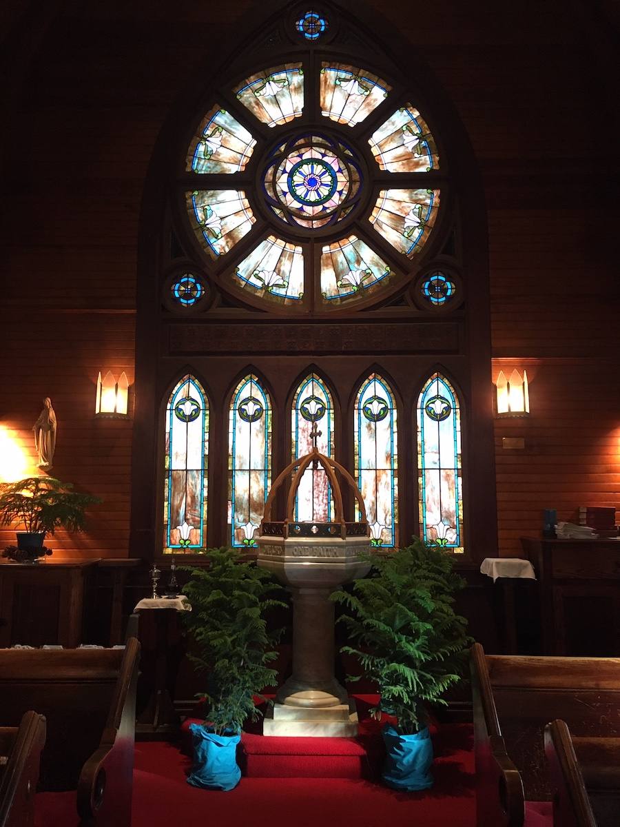 Christmas at the Inns 2019 - St. Mary's by-the-Sea Baptismal