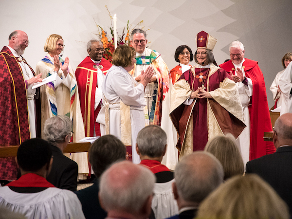 On January 11th, Lucinda Beth Ashby was ordained and consecrated as the fourth bishop of the Diocese of El Camino Real, succeeding Bishop Mary Gray-Reeves