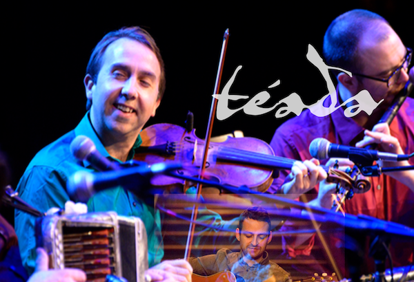 Irish band Téada will be coming to St. Mary's Pacific Grove as part of their Celtic Music series on February 23!