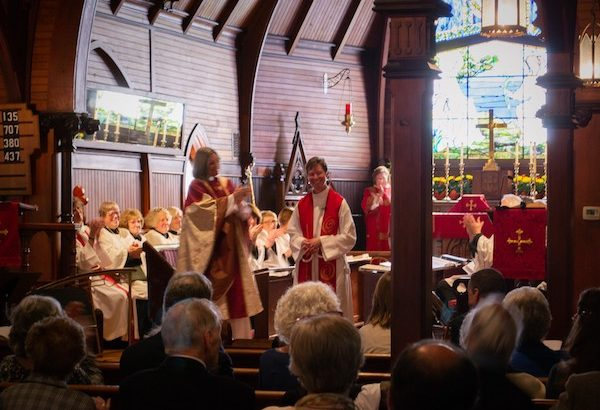 St. Mary's by-the-Sea officially welcomed new Rector Kristine Johnson on Sunday, January 25th with a Renewal of Ministry celebration