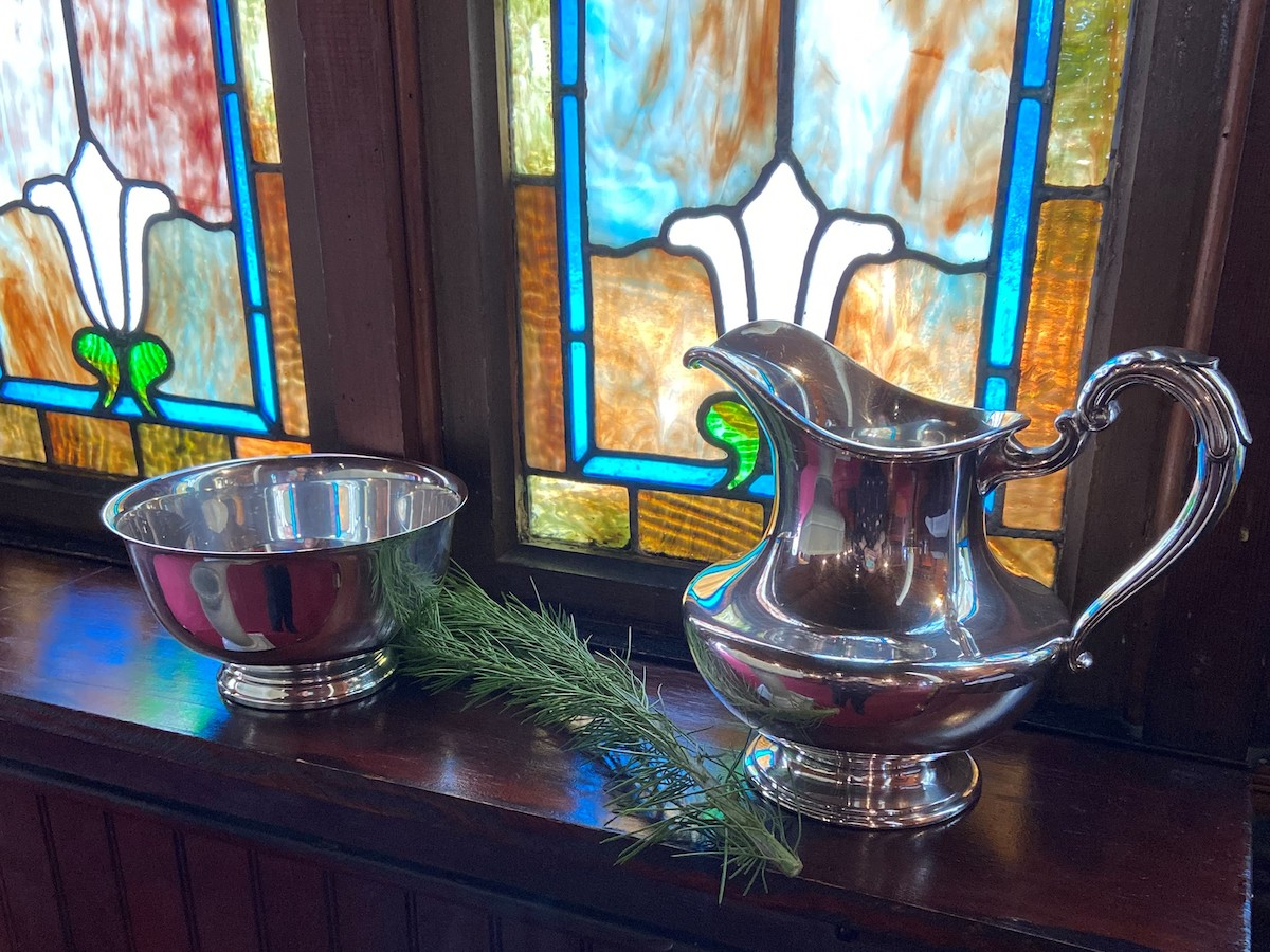 Interested in Baptism? Learn more about the Episcopal Baptismal Covenant at St. Mary's By-The-Sea in Pacific Grove, CA.