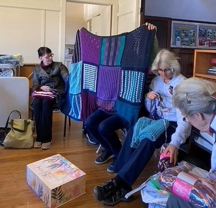 Prayer Shawl Ministry meets the first Friday of every month from 1:30-3:00pm in St. Mary's Guild Room