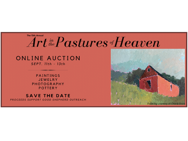 Art in the Pastures of Heaven - Online Auction, September 11, 2020