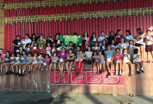 Our Little Roses in Honduras, a girls rescue mission that St. Mary's By-The-Sea supports