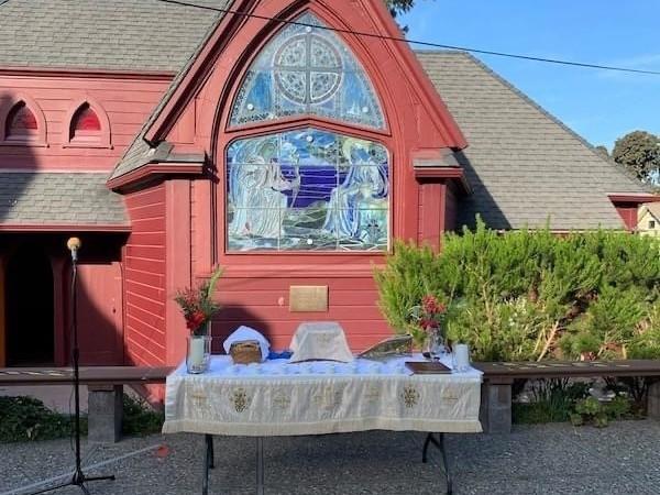 Feast Day Outdoor Eucharist November 1st