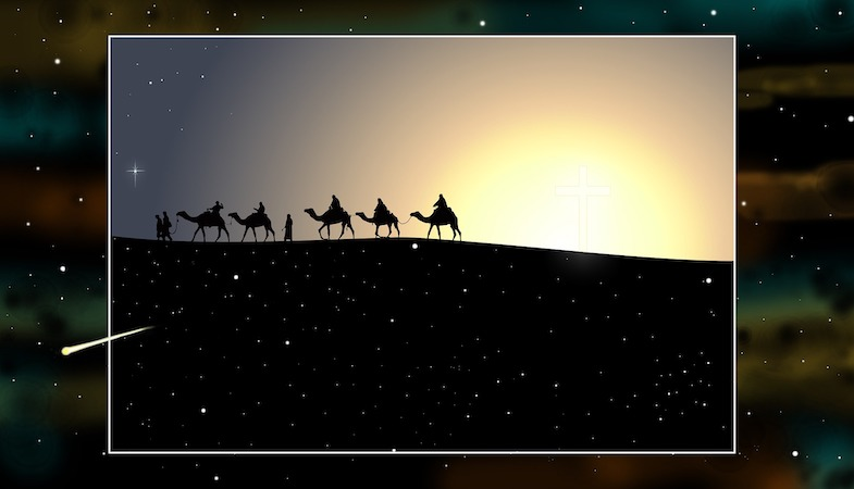 Epiphany Service, January 6 at 7 PM