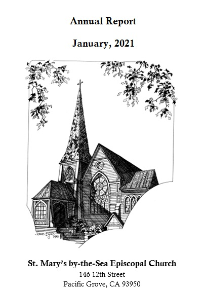 St. Mary's by-the-Sea Episcopal Church, 2021 Annual Report