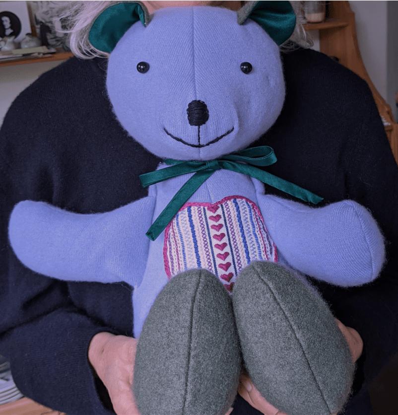 Handsewn bear