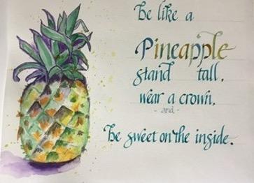 Pineapple by Mary Jo Howe