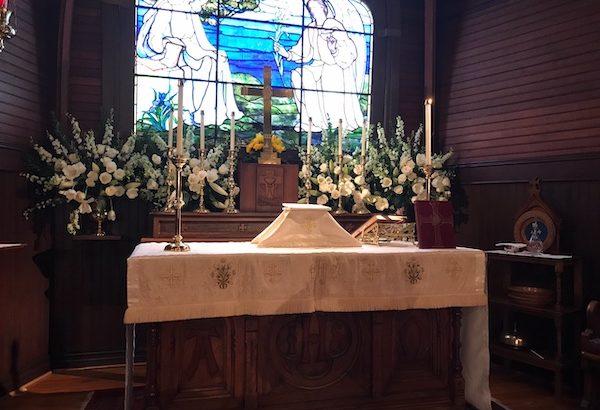 Altar Guild high altar