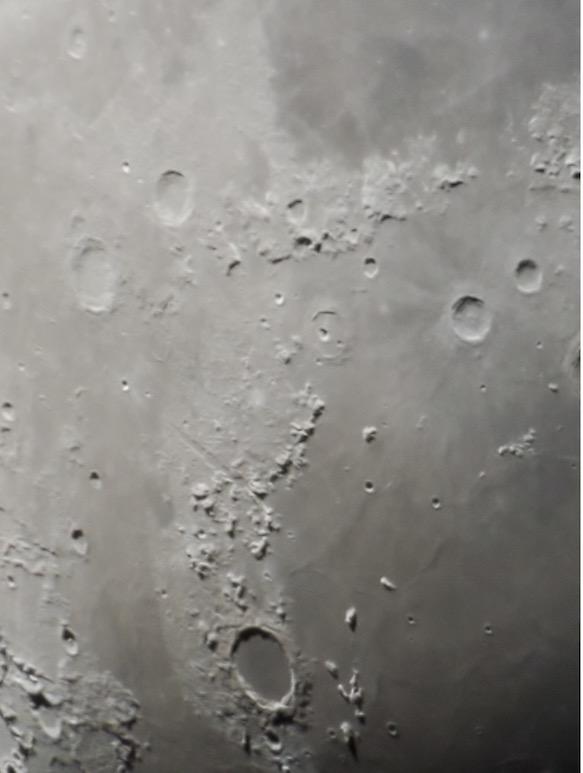Plato crater on the moon - John Ferreira