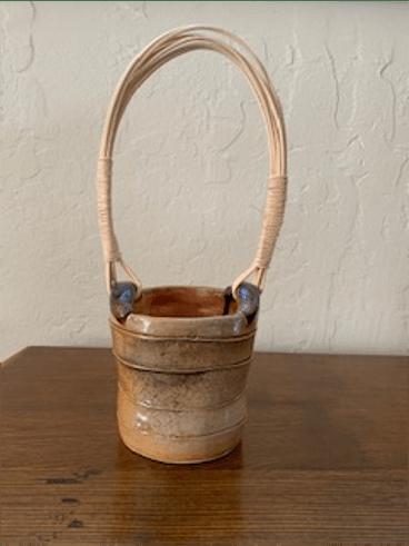 Clay basket, by Fran Foote
