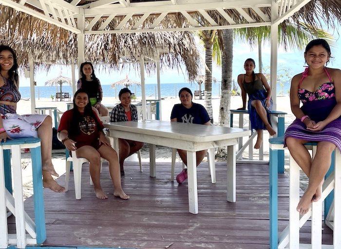 Our Little Roses Virtual Summer Camp 2021 beach palapa break